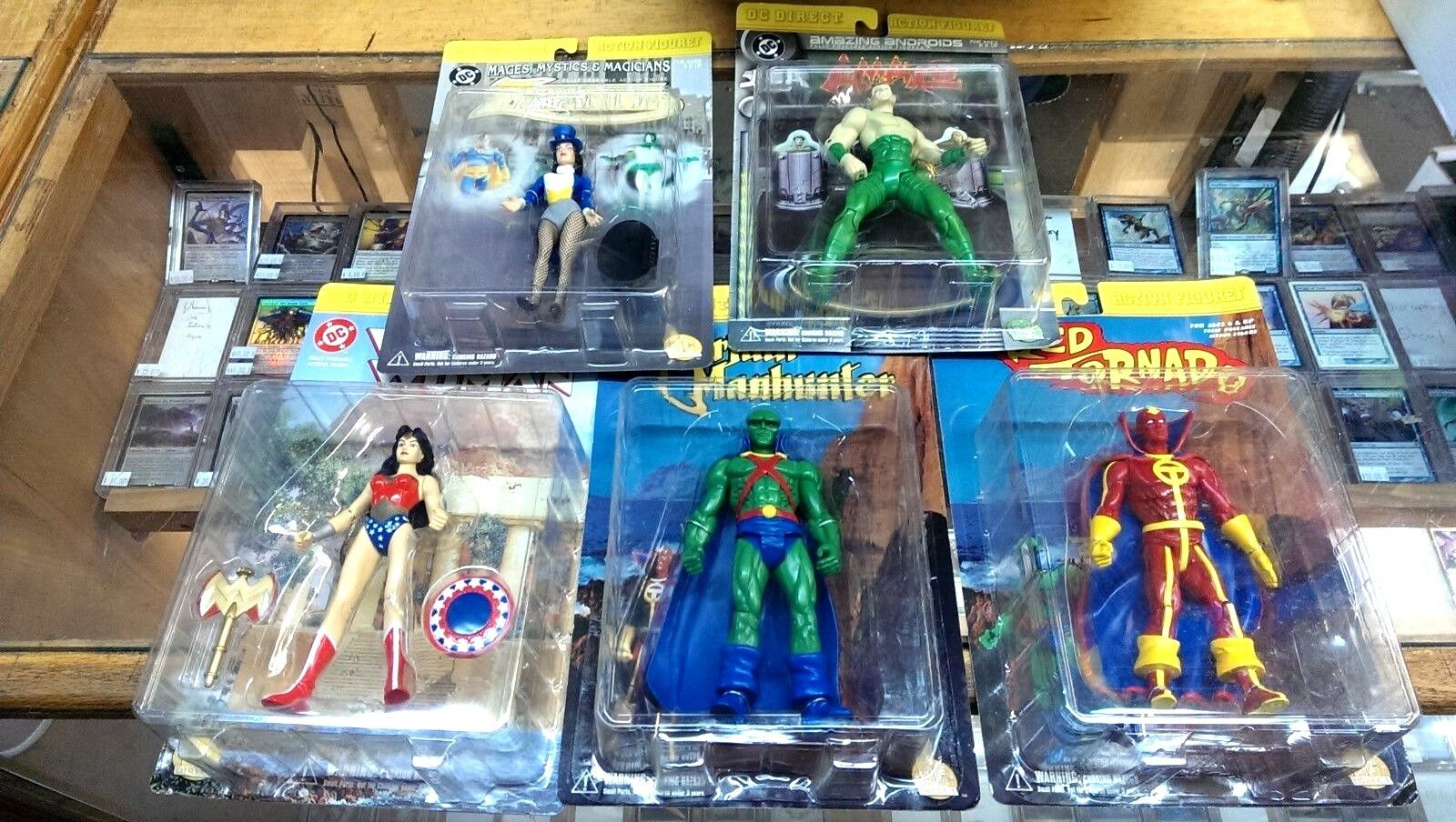 5 DC DIRECT Action Figures - WONDER Damenschuhe Martian Manhunter ZANTANNA Amazo 12ea
