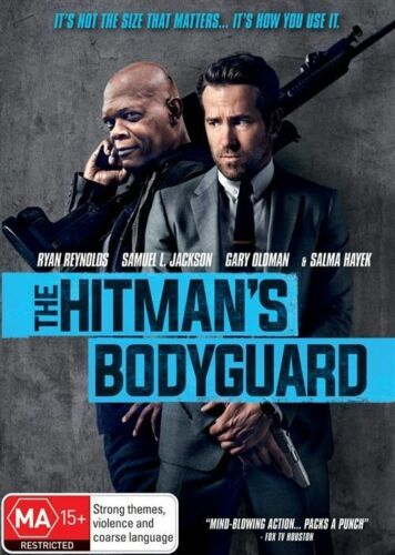 1 of 1 - The Hitman's Bodyguard (DVD, 2017) Ex rental