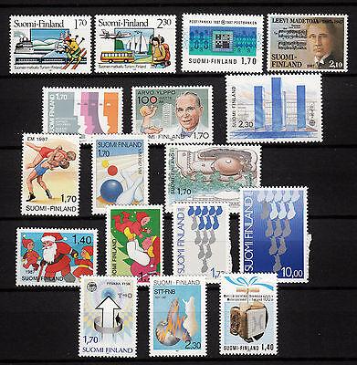 103638/ Finnland 1987 - Mi 1008/34 - Kompletter Jahrgang - ** - M€ 36,60 Koop Nu