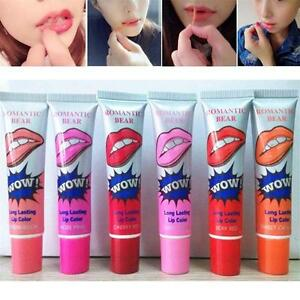 Women-039-s-Lip-Gloss-TATTOO-Mask-Magic-Color-Peel-Off-Tint-Long-Lasting-Waterproof