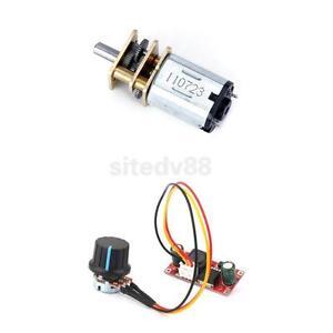 3v 6v Dc Short Shaft Torque Gear Box Motor Small Dc