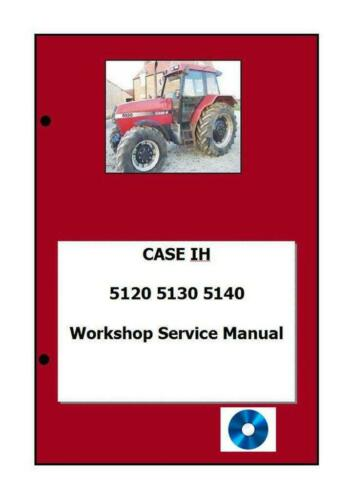 Case Workshop Manual Printed  5120 5130 5140