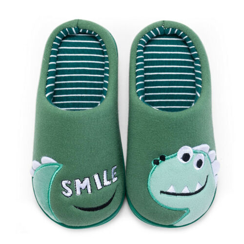 Toddler Boys Girls Little Kid Shoes Warm Cute Animal Kid Home Slippers HY