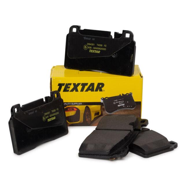 TEXTAR Bremsbeläge für AUDI A6 C7 A7 4G Q5 8RB PORSCHE MACAN 95B 2.0 vorne