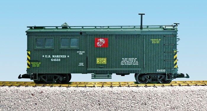 USA Trains 1853 US Marine Corps Storage Car  | Attraktiv Und Langlebig