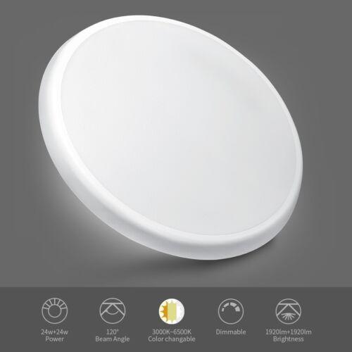 24W-62W LED Deckenleuchte Badleuchte Küche Deckenlampe Dimmbar Wohnzimmer IP54