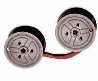 2 Universal Calculator Seiko Spool c Wind, Black/red Long Life Ribbons