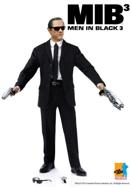 "Dragon 1/6 Scale 12"" MIB3 MIB Men in Black 3 Agent K 2012 Action Figure 73172"