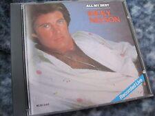 "RICKY NELSON CD ""ALL MY BEST"" 1986 MCA"