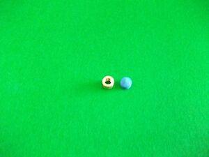 10mm Laiton Virole Pour Snooker/queue De Billard & Elkmaster Cue Tip-afficher Le Titre D'origine Vente Chaude 50-70% De RéDuction