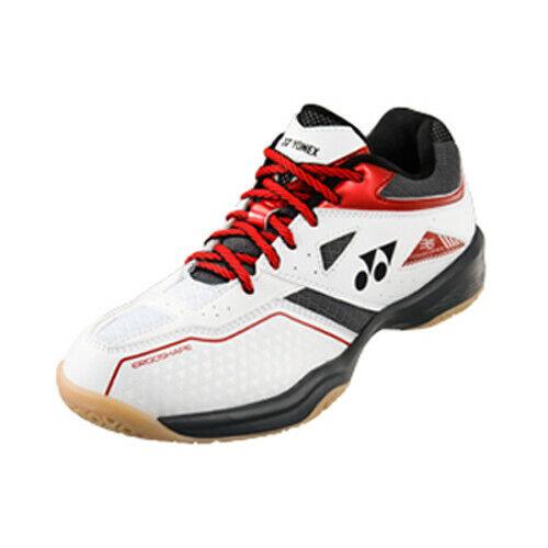 Yonex power cushion 36 Men/'s Badminton Chaussures-blanc//rouge