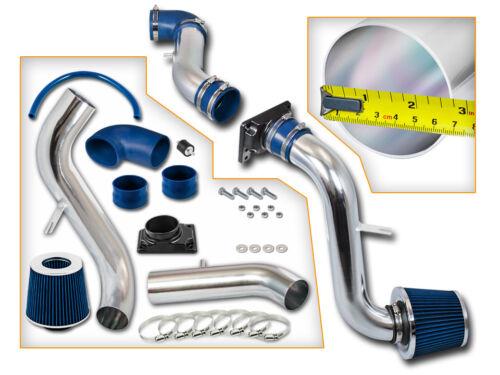 BLUE COLD AIR INTAKE KIT+DRY FILTER FOR Mitsubishi 00-05 Eclipse L4//V6 3.0L 2.4L