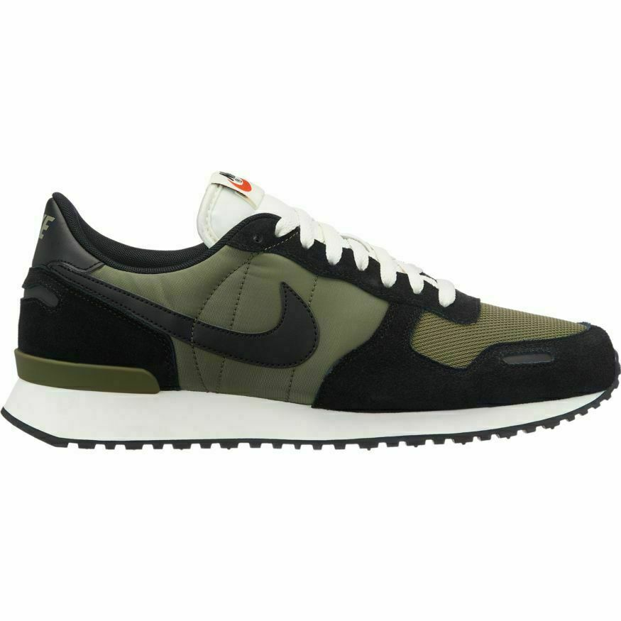 Nike Air Vortex size 10. Black Olive Green White. 903896-014. internationalist
