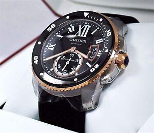 c68b20a95dd Image is loading Cartier-Calibre-De-Cartier-Diver-W7100055-42mm-Automatic-
