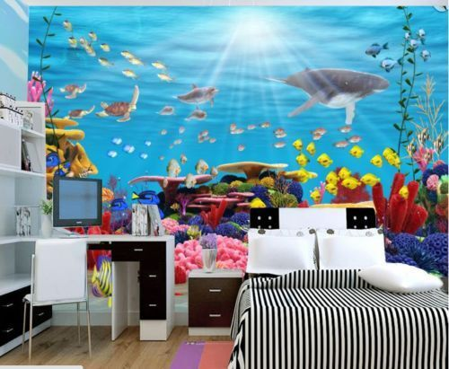 3D Sonne Korallen Seefisch 85 85 85 Tapete Wandgemälde Tapete Tapeten Bild Familie DE   Sale Online Shop  bb9dca