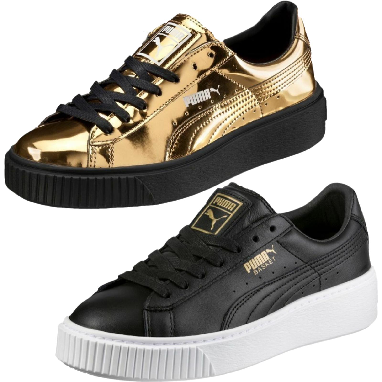 Puma Basket Platform cortos señora zapatillas zapatillas zapatillas calzado deportivo New top premium  directo de fábrica