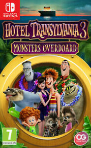 Hotel-Transylvania-3-Monsters-Overboard-For-Nintendo-Switch-New-amp-Sealed