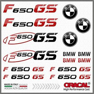 15x-kit-for-F650-GS-Black-Red-BMW-Motorrad-ADESIVI-PEGATINA-AUTOCOLLANT-Moto