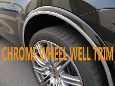 4PCS wheel well fender bumper chrome molding trim NISmodels 2014-2018 #1