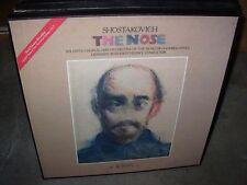 ROZHDESTVENSKY / SHOSTAKOVICH the nose ( classical ) 2lp box melodiya
