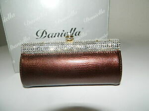 DANIELLA-MINAUDIERE-LEATHER-EVENING-BAG-WITH-AUSTRIAN-CRYSTALS