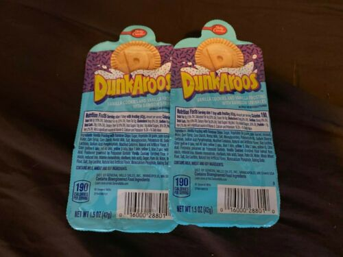 DUNKAROOS TWO 2 PACK BETTY CROCKER SOLD OUT NEXT DAY SHIPPED HARD TO FIND