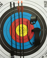 Kids 20lbs Traditional Longbow Archery Sets Practice W Protectors & Safe Arrows