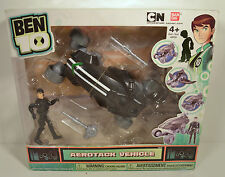 "2012 Kevin Transforming Aerotack 7"" Action Figure Vehicle Ben 10 Ultimate Alien"