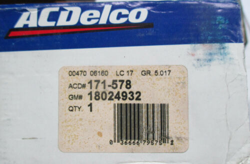 D506 FRONT BRAKE PADS FITS VEHICLES ON CHART BRAND NEW ACDELCO 171-578