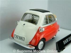 Details About Bmw Isetta 250 Bubble Car Model 1 43 Scale Red Colour Example T3412z