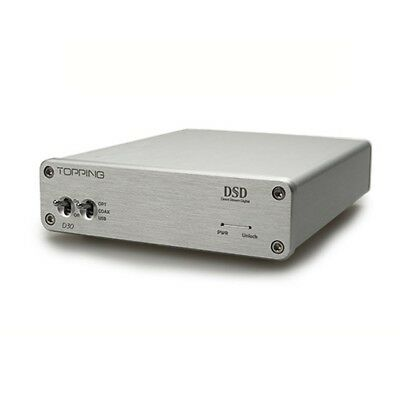 TOPPING D30 HIFI DAC XMOS USB DSD CS4398 24Bit 192KHz Coaxial Optical