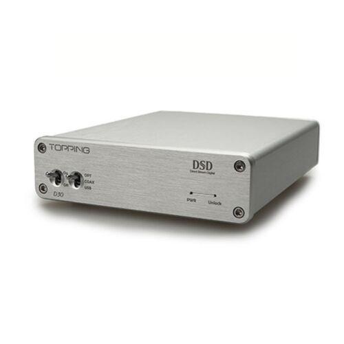 TOPPING D30 DSD DAC Audio Decoder USB Coaxial Optical Fiber XMOS CS4398 24Bit