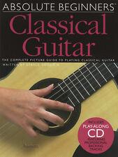 ABSOLUTE principianti chitarra classica Scheda Libro di musica/CD Impara a giocare metodi