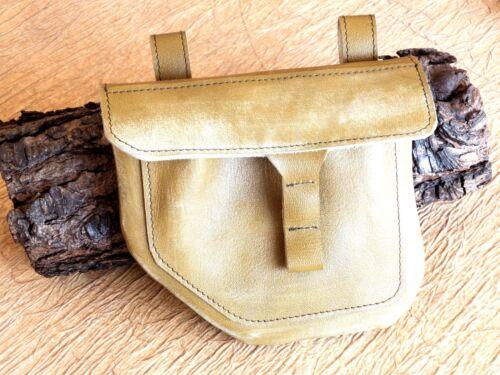 Salento en cuir main Sac vᄄᆭritable Femme en ceinture FabriquᄄᆭVert cuirHomme fait lFKJ3T1c