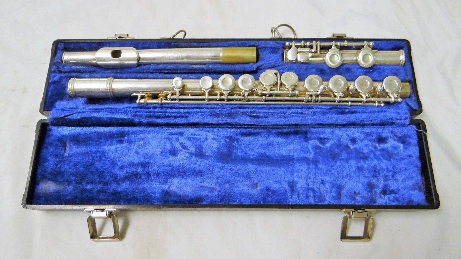 Gemeinhardt 2SP Versilbert Flute mit Hartschale