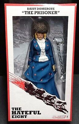"Neca Hateful Eight Tarantino Daisy Domergue /""The Prisoner/"""