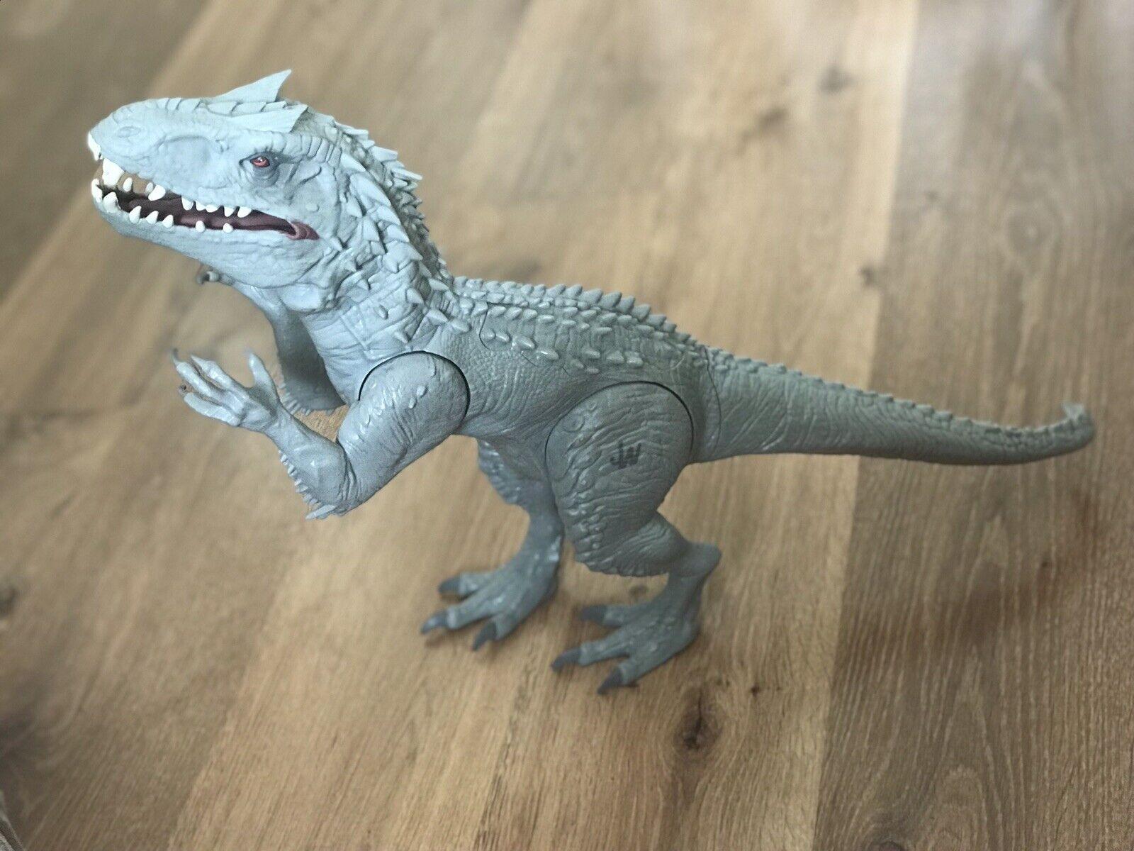 Jurassic World Luces Y Sonidos indominus Rex   Raro   Libre 1st clase grabada