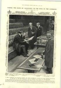 1910 Taking The Oath Of Allegiance To The King And The House Of Commons - Bishop Auckland, United Kingdom - 1910 Taking The Oath Of Allegiance To The King And The House Of Commons - Bishop Auckland, United Kingdom