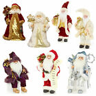 Premier 30cm Santa - Standing or Sitting - Christmas Room Decoration - 7 Designs