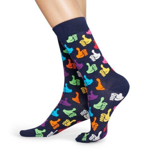 - blau bunt Daumen hoch Socken Strümpfe Happy Socks Thumbs Up 41-46 36-40