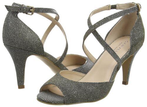 Schuhe 4 Rrp Sandalen Kg Größe Mid Silber Gold High Koko £ Carvela Bronze Heel 37 99 XqfRF6
