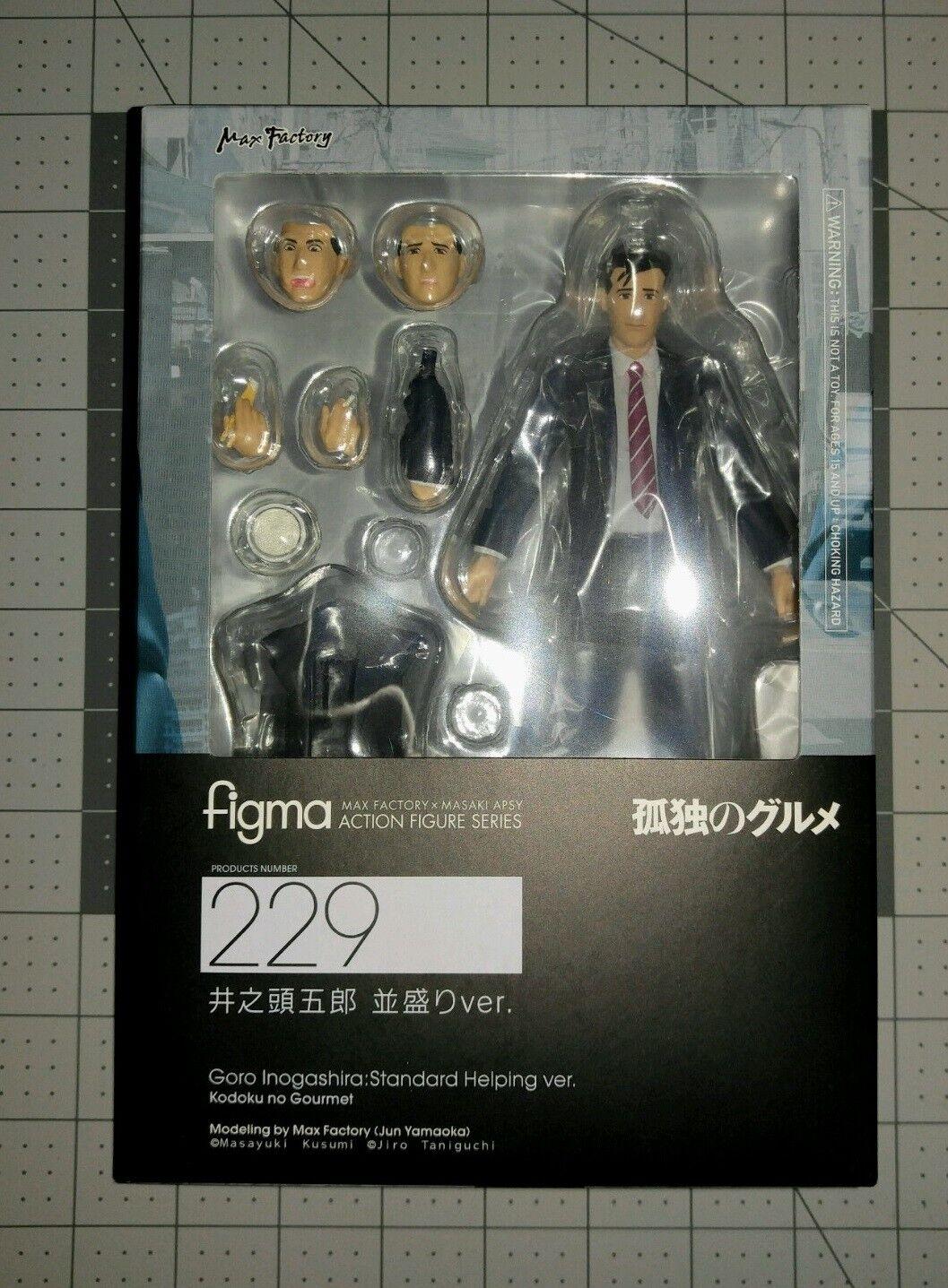 Max Factory Kodoku no gourmet Goro Inogashira Standard helping figma   229 USA