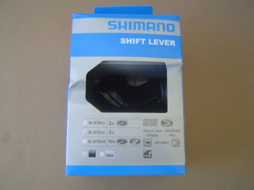 Shimano Levier sl-r783 3 POSITIONS à gauche noir neuf dans sa boîte NEUF