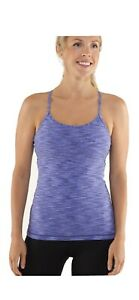 Lululemon Power Y Tank *Luon , Heathered Lullaby, Sz 8, Royalty Space Dye