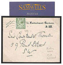 MS144 1914 GB WW1 SOUP KITCHEN Wounded Soldiers Card to Head BRITISH RED CROSS
