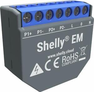 SHELLY 3EM TI 3x120A