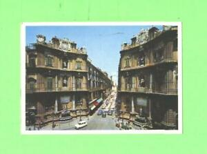 R-POSTCARD-PALERMO-MAQUEDA-S-STREET-OLD-CAR-ON-THE-STREET