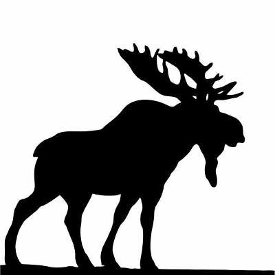 Stencil #7000 Mixed Media Arts School Crafts DIY Decor Projects Bull Moose
