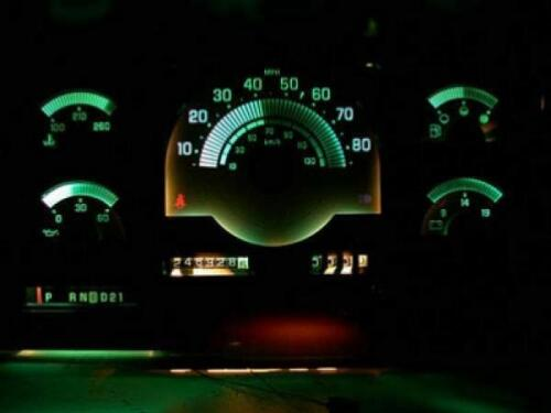 1988-1994 Chevrolet Truck C//K Dash Cluster White Face Gauges 88-94