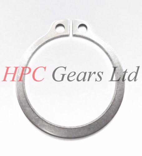 5 x in acciaio inox da 14 mm esterno graffe circolari C Clip DIN471 graffa circolare Pack HPC INGRANAGGI